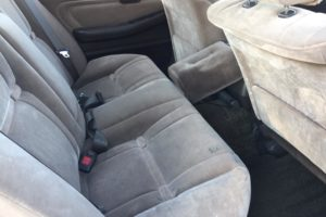 1989 Toyota Mark II rear seats