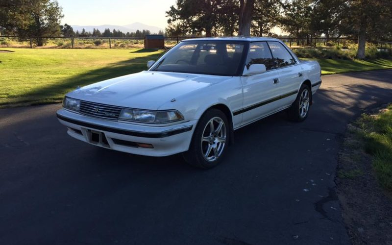 1989 Toyota Mark II front view