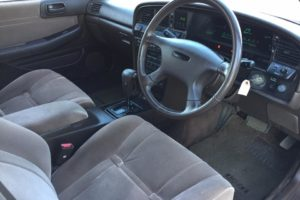 1989 Toyota Mark II steering