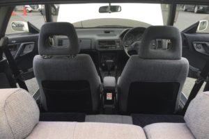 1990 Honda Integra D86 rear seats