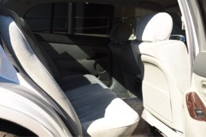 1992 Toyota Aristo silver back seats
