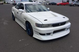 1993 Toyota Mark II JZX90 white 12