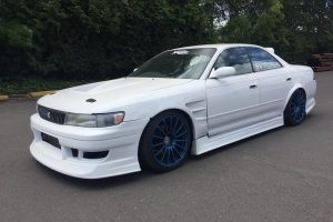 1993 Toyota Mark II JZX90 white 15