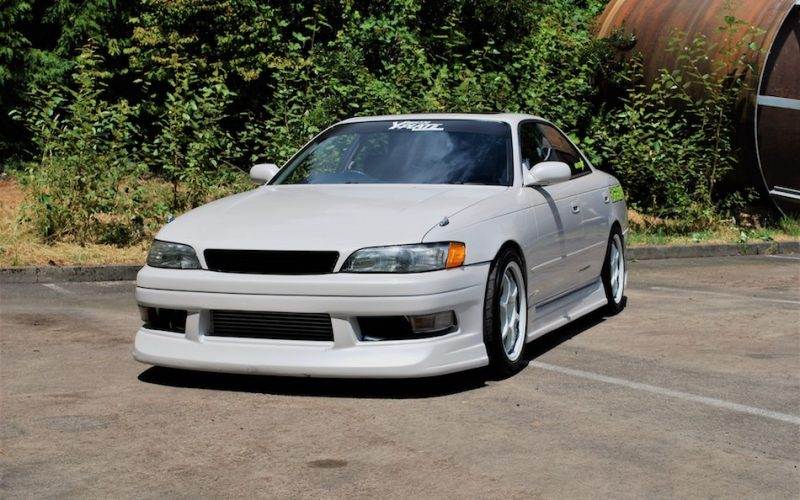 1993 Toyota Mark II Tourer V JZX90 White 02