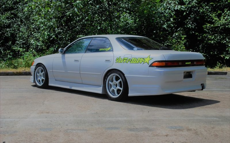 1993 Toyota Mark II Tourer V JZX90 White 06