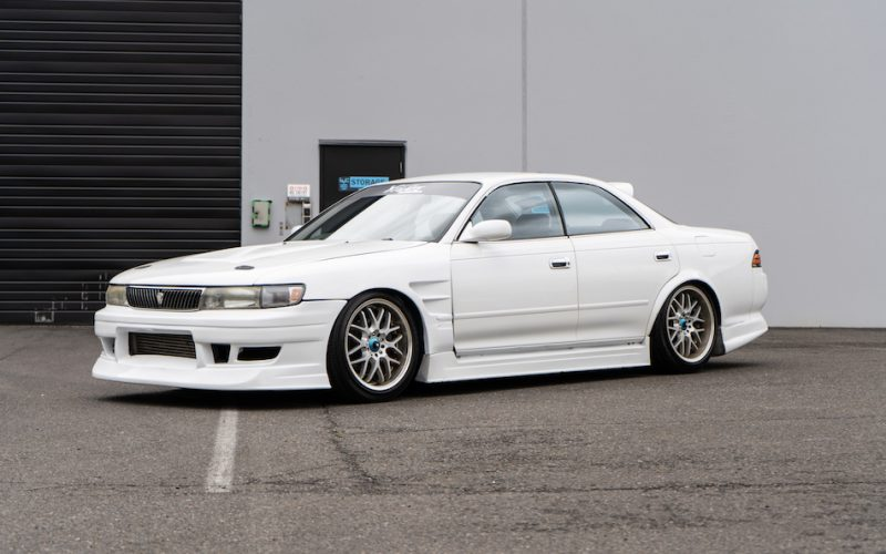 1993 Toyota Mark II white 02