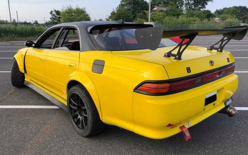 1994 Toyota Mark II yellow 07